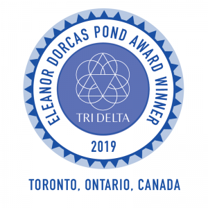 Eleanor Dorcas Pond Award at the 2019 Volunteer Leadership Conference