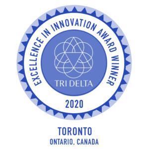 Excellence in Innovation Award Tri Delta 2020